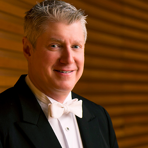 Image of Michael Stern. Stern Conducts Bruckner's Seventh. Michael Stern, conductor. Kansas City Symphony.  November 1-3