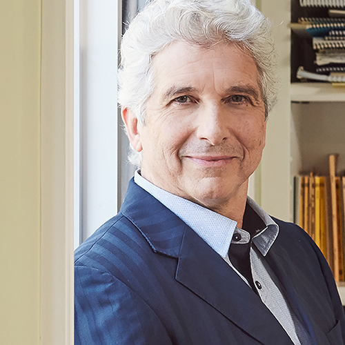 Image of Peter Oundjian. Beethoven, Brahms and Mendelssohn's violin concerto. Peter Oundjian, guest conductor. Kansas city symphony. January 17-19
