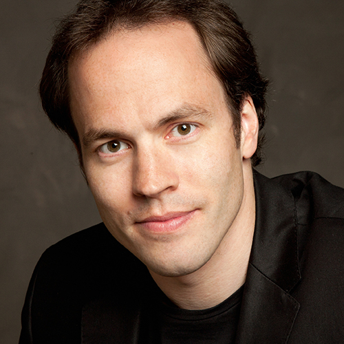 Image of Johannes Debus. Beethoven's fourth piano concerto. Johannes Debus, guest conductor. Kansas city symphony.  March 20-22