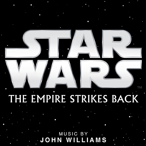 Star Wars The Empire Strikes Back Movie Logo with Music by John Williams